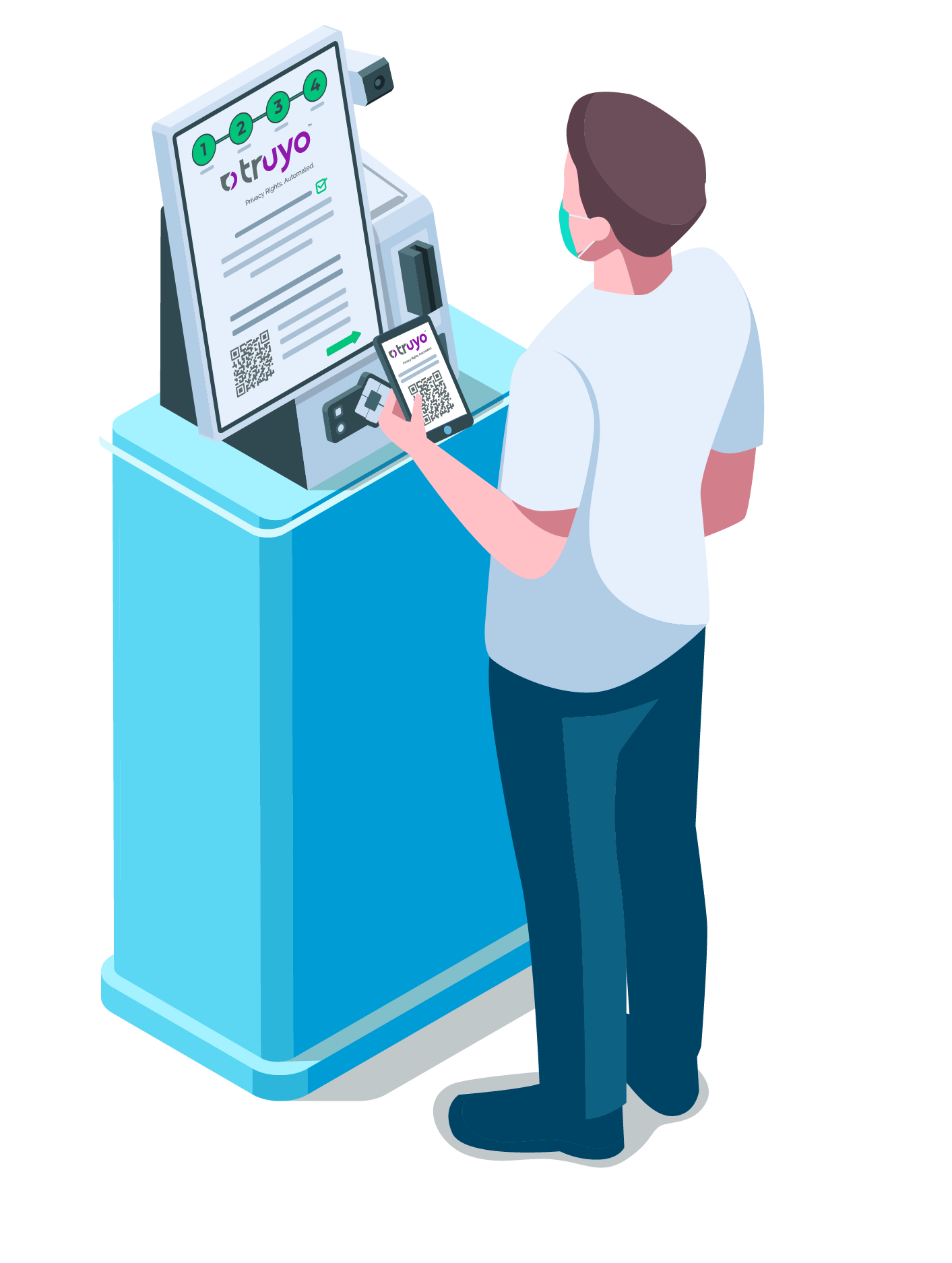 janus temperature screening kiosk