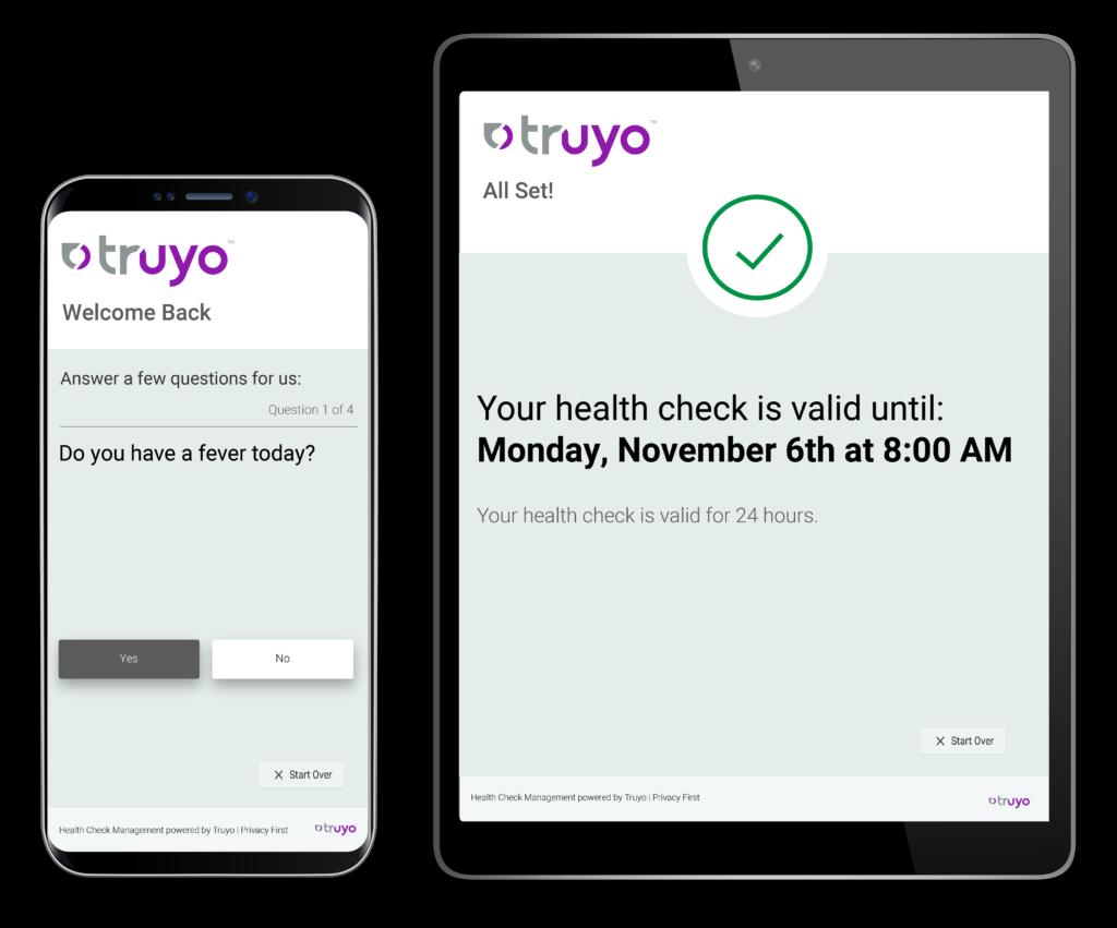 Health-Check on Phone and iPad